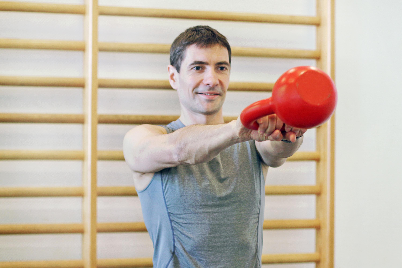 Kettlebell Training groß